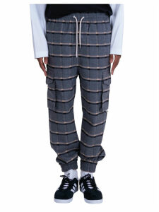 Drole De Monsieur Cargo Cuffed Pants