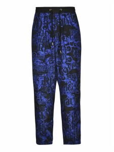 Versace Jeans Couture Sprous Baroque Printed Trousers