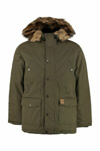 Carhartt Trapper Padded Parka With Faux Fur Hood