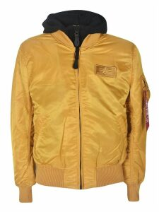 Alpha Industries Double Layered Hooded Bomber