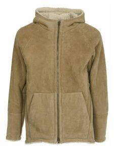 Salvatore Santoro Suede Leather Hooded Jacket