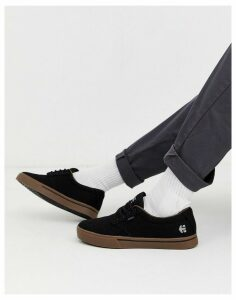 Etnies Jameson 2 Eco trainers with gum sole in black