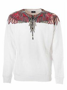 Marcelo Burlon Geometric Wings Sweatshirt