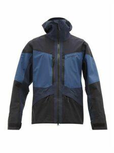Peak Performance - Gravity Hooded Technical Ski Jacket - Mens - Blue Multi