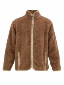 Needles - Zip-up Alpaca And Wool Jacket - Mens - Beige