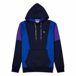 Tommy Jeans Panelled Hooded Jersey Sweatshirt