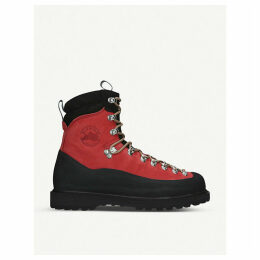 Everest nubuck leather hiking boots