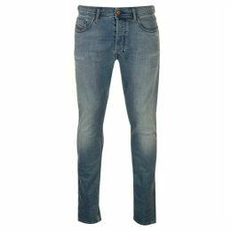 Diesel Jeans Tepphar Distressed Jeans