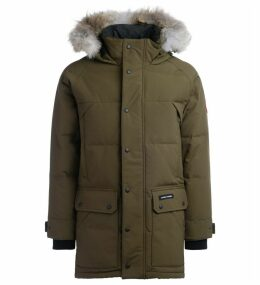 Parka Canada Goose Emory Army Green With Hood