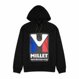 White Mountaineering X Millet Logo Hooded Cotton Sweatshirt
