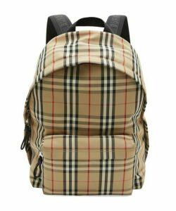 Vintage Check Backpack