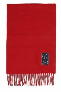 Lanvin Scarve In Red Wool
