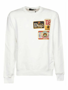 Dsquared2 Patched Sweatshirt