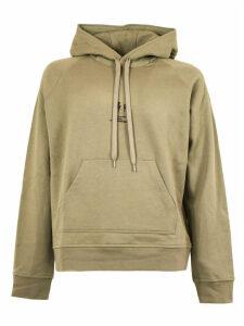 Neil Barrett Sweatshirt In Kaki Cotton