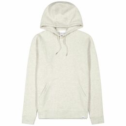 Norse Projects Vagn Oatmeal Hooded Cotton Sweatshirt