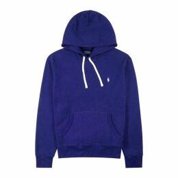 Polo Ralph Lauren Blue Hooded Cotton-blend Sweatshirt