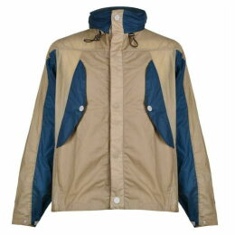 KARRIMOR K100 Backpack Windbreaker Jacket - Stone/Blue