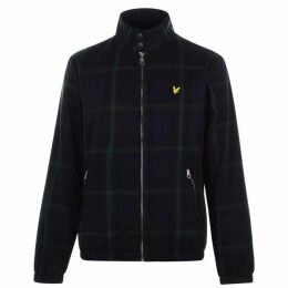 Lyle and Scott Classic Harrington Jacket - Navy Check Z612