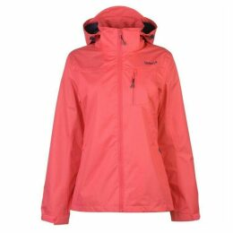 Gelert Horizon Waterproof Jacket Ladies - Rose/Gelery Nvy
