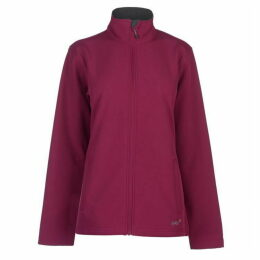 Gelert Softshell Jacket Ladies - Gelert Berry