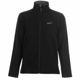 Gelert Softshell Jacket Mens - Black