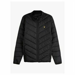Lyle & Scott Quilted Nylon Jacket, True Black
