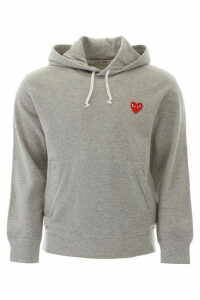 Comme des Garçons Play Hoodie With Heart Patch