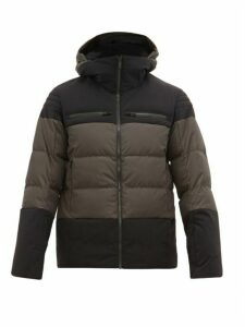 Fusalp - Lauzon Soft-shell Down-filled Jacket - Mens - Black Grey