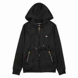 True Religion Black Foil-print Jersey Sweatshirt