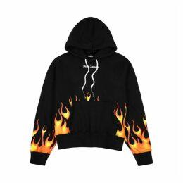 Palm Angels Firestarter Printed Cotton Sweatshirt