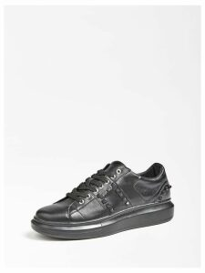 Guess Kean Real Leather Sneaker Studs