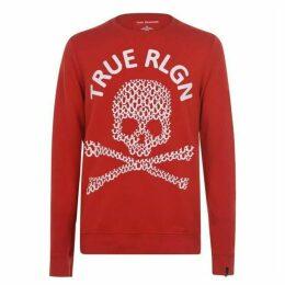 True Religion Skull Crew Sweatshirt