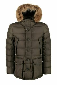 Moncler Cluny Fur Hood Down Jacket