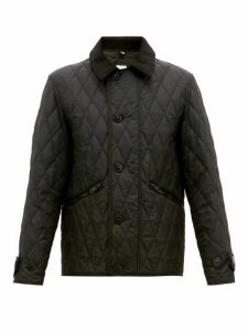 Burberry - Spread Collar Quilted Field Jacket - Mens - Black