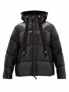 Burberry - Quilted-down Shell Hooded Jacket - Mens - Black