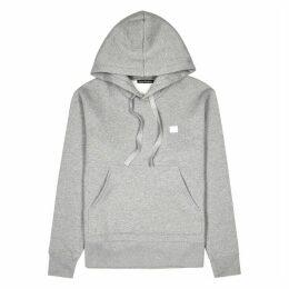Acne Studios Ferris Grey Hooded Cotton Sweatshirt