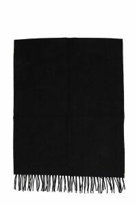 Lanvin Scarve In Black Wool